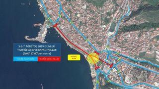 Kdz. Ereğli'de festival dolayısıyla kapanacak yollar açıklandı