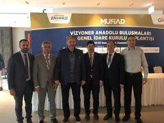 MÜSİAD Karadeniz Ereğli Yönetimi GİK toplantısına katıldı