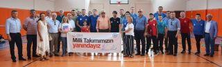 Paravoley Milli Takımı, Avrupa Şampiyonası hazırlıklarını Ereğli'de sürdürüyor