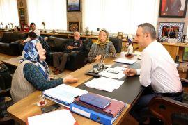 Başkan Alan, Halk Günü toplantılarını sürdürüyor