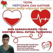 Çaycuma'da organ bağışına destek için futbol turnuvası düzenleniyor