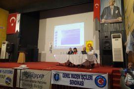 Demir, madenlerin insan ve çevre etkileri konferansına katıldı