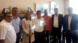 GMİS, başdanışman Oruç'u ziyaret etti
