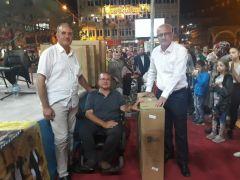 Gaziantep Engelli Federasyonundan tekerlekli sandalye