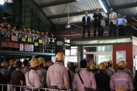 Grev kararı alan GMİS, üretim bölgelerinde madencilerle buluşuyor