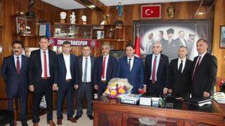 Madenciler Zonguldak Kömürspor'a 60 bin TL destek verdi