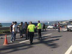 Yolun karşısına geçmeye çalışan çocuk kazada ağır yaralandı