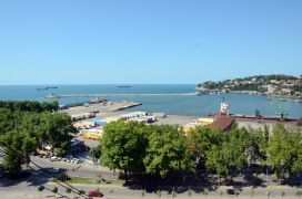 Zonguldak'ta ihracat ve ithalat azaldı