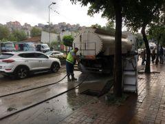 Zonguldak'ta kuvvetli yağış sonrası hasar tespit çalışmaları sürüyor