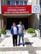 Zonguldaklı güreşçi Alaca, Milli takım kampına başladı