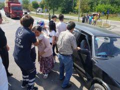 Devrek'te trafik kazası: 3 yaralı