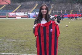 Genç kız takımını tuttuğu Zonguldak Kömürspor için 539 kilometre aştı
