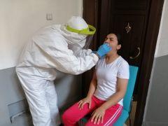 Alaplı'da kapı kapı korona virüs testi