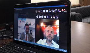 Keleş EİT toplantısını video konferans ile gerçekleştirdi