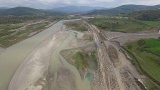 Filyos 5. kısım inşaatındaki çalışmalar sürüyor
