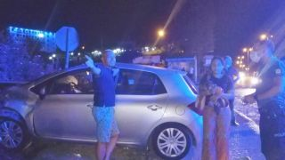 """Kazaya sebebiyet veren alkollü sürücüye tepki """"Ölsek ne olacak"""""""