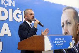 AK Parti Kdz. Ereğli ilçe başkanlığına Bozkurt seçildi