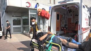 Tersanede iş kazası: 1 yaralı