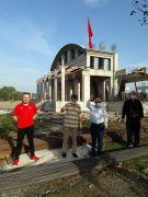 Dokap camii inşaatında sona gelindi