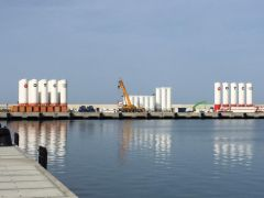 Filyos Limanı'nda müjde öncesi hareketlilik
