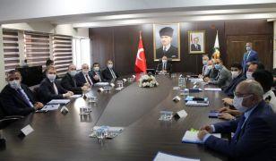 Güvenlik ve asayiş toplantısı Vali Tutulmaz başkanlığında gerçekleştirildi