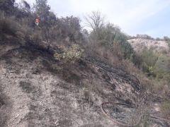 Küçük çaplı yangın paniğe neden oldu