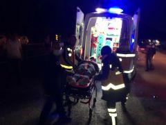 Ters yöne giren araç kazaya sebep oldu: 4 yaralı