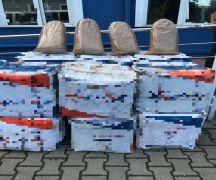 Zonguldak'ta kaçak 380 kilo tütün ele geçirildi