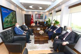 Zonguldak OBM'de devir teslim töreni