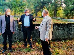 63 maden şehidinin bulunduğu mezarlık yeniden düzenleniyor