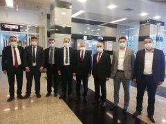 Bozkurt, Ereğli'nin sorun ve taleplerini Ankara'da dile getirdi
