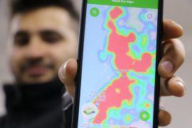 Haritada alarm veren Zonguldak'ta kent merkezinde sakinlik hakim