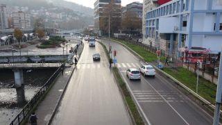 56 saatlik kısıtlama sona erdi, cadde ve sokaklar boş kaldı