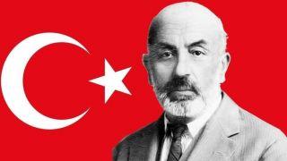 Başkan Mehmet Akif Ersoy'u andı