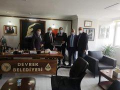 Muhtar Torlak'tan Başkan Bozkurt'a ziyaret