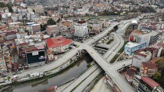 56 saatlik kısıtlamada cadde ve sokaklar boş kaldı