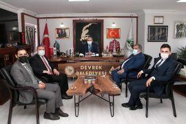 Başkan Bozkurt ' Diyanet-Sen'den ziyaret