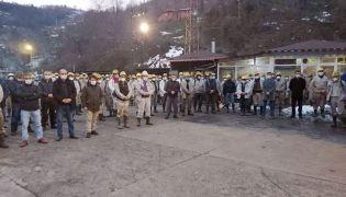 Maden şehidi Ramazan Toprak için Kur-an okutuldu