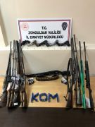 Zonguldak'ta silah ticareti operasyonu