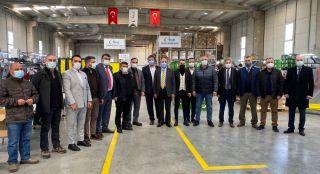 Çaycuma 'yı 20 iş insanı ziyarette bulundu