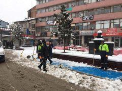 Devrek Belediye Başkanı Bozkurt sahada çalışan personeli denetledi