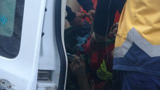 Alt yapı çalışmaları sırasında göçük: 1 yaralı
