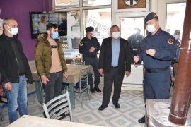 Ormanlı'da belediye ve jandarma işyerlerini denetledi