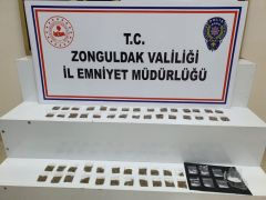 Zonguldak'ta uyuşturucu operasyonunda 1 tutuklama