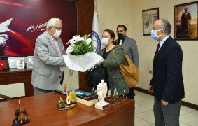 Başkan Posbıyık, ERMED'i tebrik etti