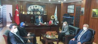 Cumhurbaşkanı Başdanışmanı Saadet Oruç, belediye başkanları ile görüştü
