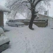 Zonguldak'ta Nisan ayında 30 santimetre kar yağdı