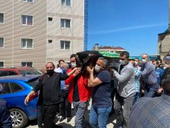 Zonguldak Kömürspor camiası yasta