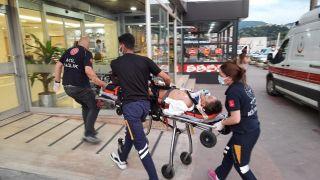 Pat pat ile motosiklet çarpıştı: 1 yaralı
