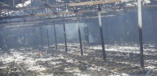 Peş peşe meydana gelen yangınlar ilçeyi tedirgin etti